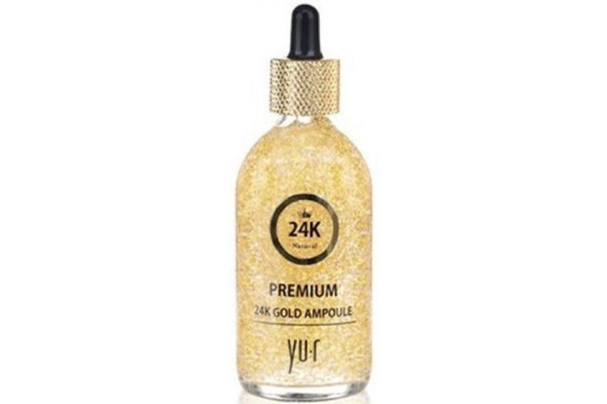 Сыворотка YU-R Premium 24K Gold Ampoule (с коллоидным золотом) 100 мл.