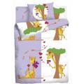 Постельное белье Мармелад Влюблённые жирафы 1,5 сп., нав. 50х70 см