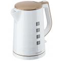 Чайник Scarlett EK18P58 1.7л. 2200Вт белый/бежевый (пластик)
