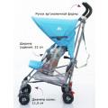Maclaren Volo коляска-трость silver rotary print DSE01032