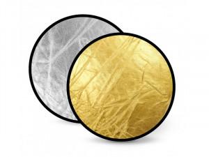 Отражатель 2 в 1 FST RD-021GS 110 золото/серебро