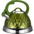 Чайник со свистком (2,6 л) Vitesse VS-1122 Зеленый