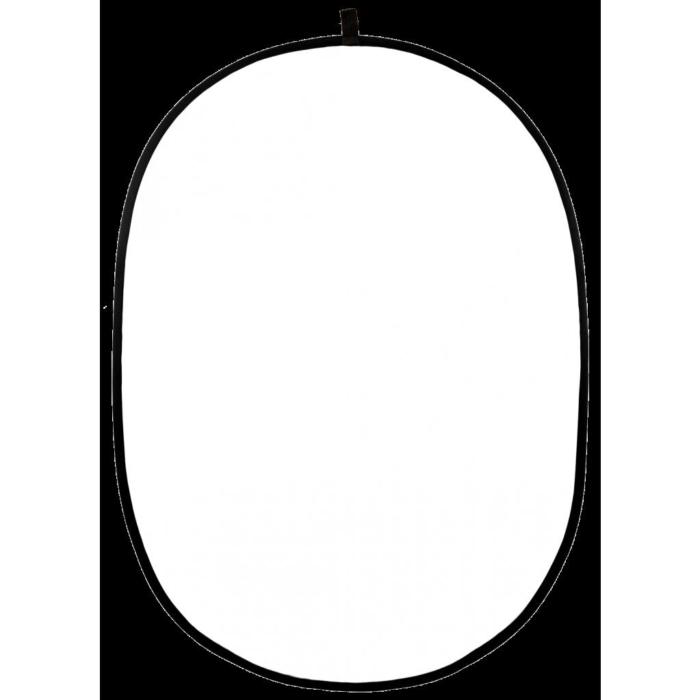 Отражатель 2в1 Raylab RF-09 серебро/белый 110*150см