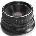 Объектив 7Artisans 25mm F1.8 Micro 4/3 черный