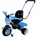 Велосипед Coloma Y Pastor 3-х колёсный Амиго №3 с ограждением, клаксоном, ручкой и мягким сиденьем (Задние колеса пластмассовые,переднее с резиновой в
