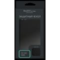 Чехол для смартфона Samsung (A505) Galaxy A50 силиконовый (матовый) черный, BoraSCO