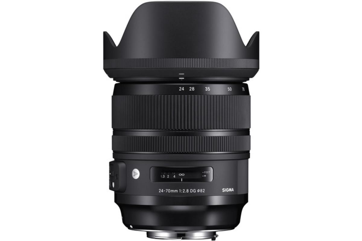 Sigma 24-70mm f/2.8 DG HSM OS Art Canon EF