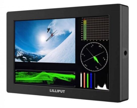 Профессиональный накамерный монитор Lilliput Q7 pro