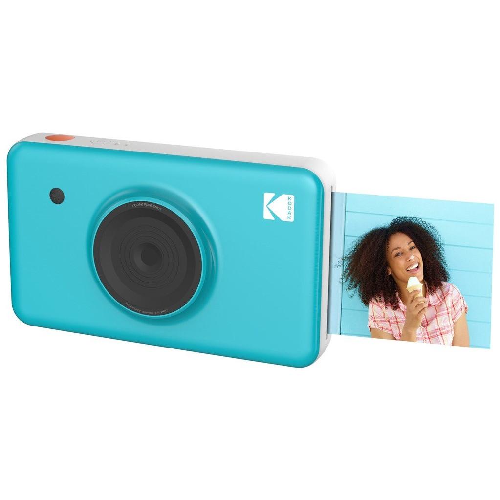 Моментальная фотокамера Kodak Mini Shot, синяя