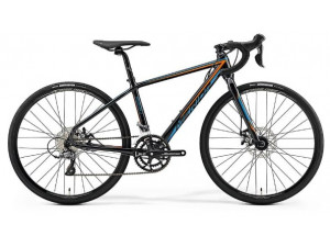 Велосипед Merida Mission J.Road MetallicBlack/Orange/Blue 2019 S(39cm)(82611)