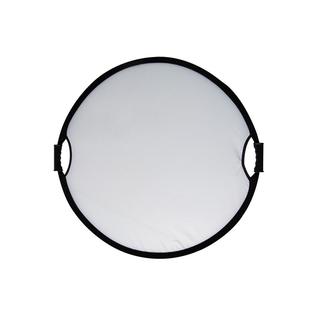 Отражатель GreenBean Flex 80 silver/white M 80 см (белый/серебристый)