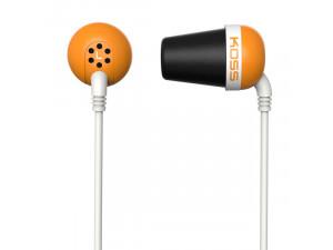 Наушники Koss The Plug оранжевый