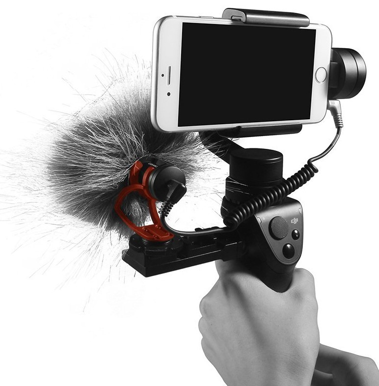 Микрофон накамерный Comica CVM-VM10II B черный