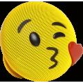 Портативная акустика Jam Audio Jamoji's Kiss, желтый