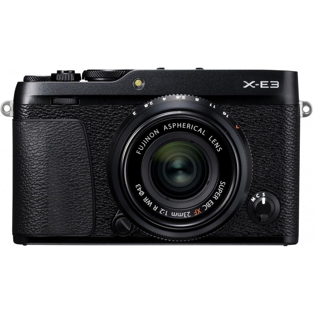 Фотоаппарат Fujifilm X-E3 body, черный