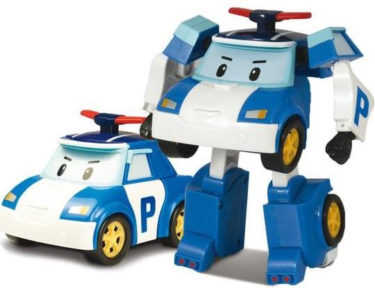 Robocar Poli Поли трансформер 10 см