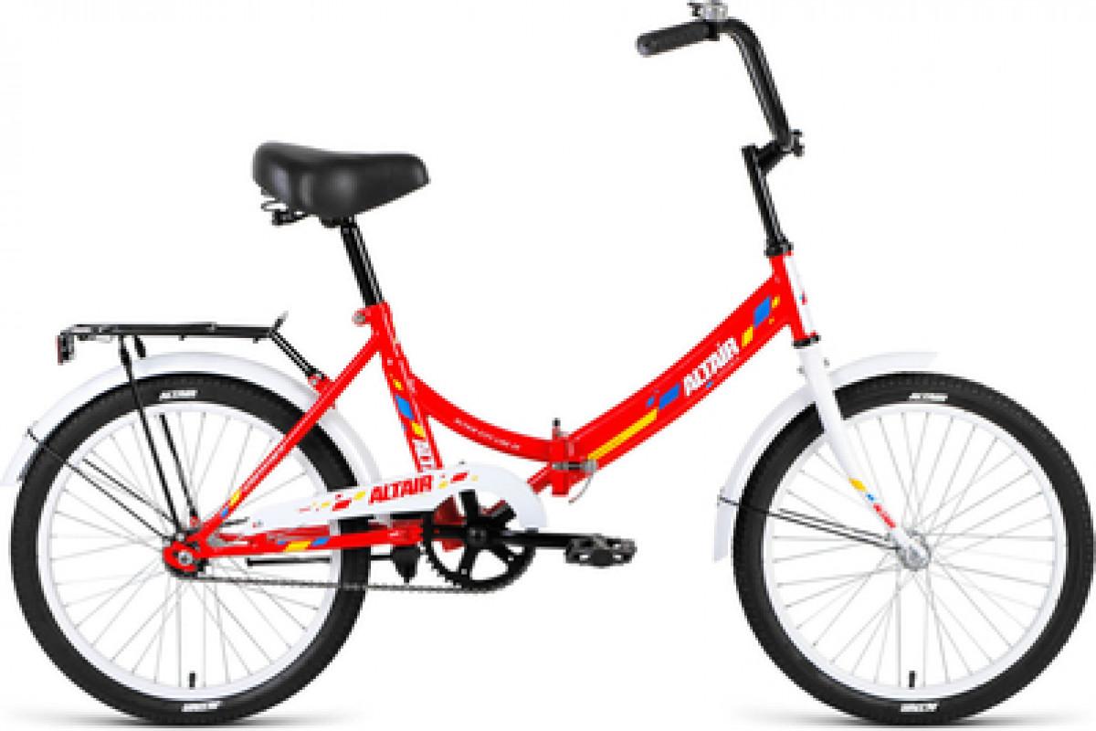 """Велосипед 20"""" Altair City 20 1 ск 17-18 г 14' Красный-Белый/RBKN8YF01009"""