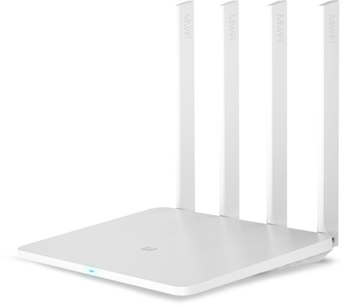 Роутер Xiaomi Mi Wi-Fi Router 3G белый (с USB)