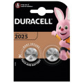 Батарейка литиевая Duracell CR2025 дисковая 3В блистер 2шт.