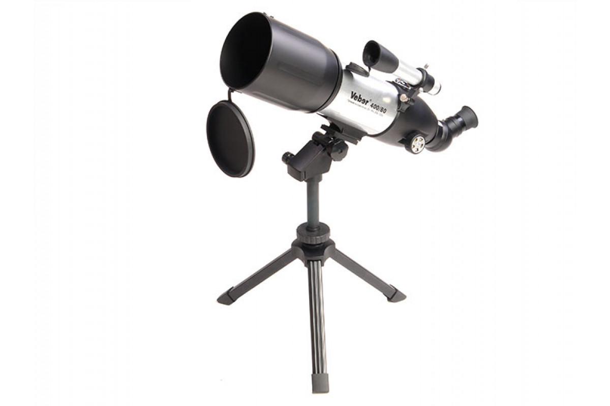 Телескоп Veber 400/80 AZ Белый