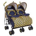 BamBola HP-306S - прогулочная коляска для двойни, желтый