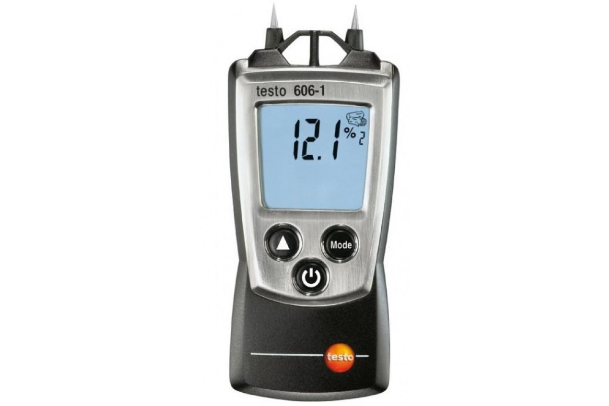 Игольчатый влагомер TESTO 606-1  функция Hold 2 AAA 200 часов