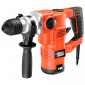 Перфоратор BLACK & DECKER KD1250K-QS  SDS+ 1250Вт 3режима 3.2Дж патрон, чемодан