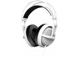 Наушники с микрофоном Steelseries Siberia 200 белый 1.8м мониторы оголовье (51132)