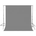 Фон муслиновый Raylab RL-BC01 3*3м серый