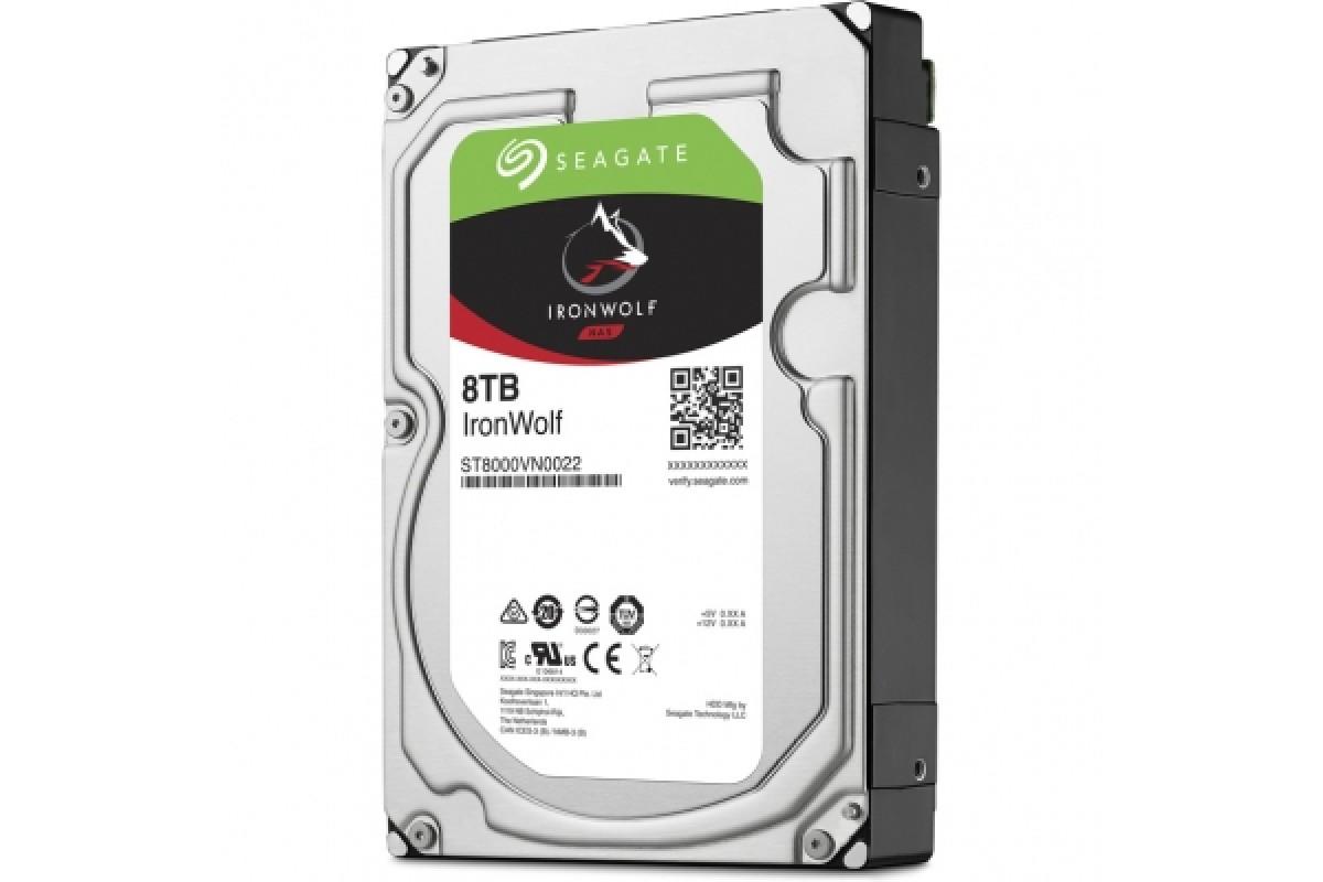 "Жесткий диск HDD 8Tb Seagate IronWolf ST8000VN0022 3.5"" SATA 6Gb/s 256Mb 7200rpm"