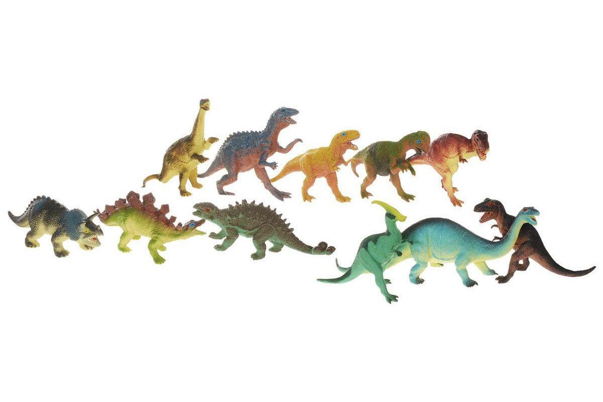 HGL игровой набор динозавров 11 штук в асс