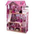 """Кукольный домик KidKraft для Барби с мебелью """"Амелия"""""""