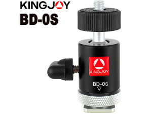 Адаптер голова шаровая Kingjoy BD-0S для дополнительного оборудования