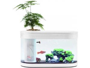 Аквариум XIAOMI Geometry Fish Tank Aquaponics Ecosystem Small HF-JHYG001 Уценка 3741