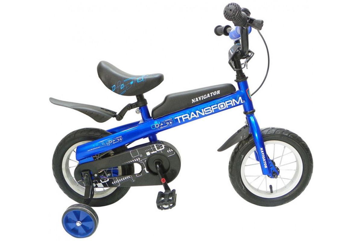 Navigator Transform - велосипед-беговел синий