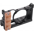 Клетка Andoer для Sony RX100 VI / VII, деревянная рукоятка