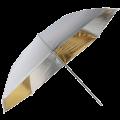 Зонт Fujimi FJU563-33 комбинированный золото/серебро 84см