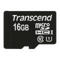 Карта памяти Transcend microSDHC 16GB Class 10 UHS-I U1 (45Mb/s) + ADP