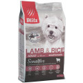 Корм для собак мелких пород Blitz Adult Small Breeds Lamb & Rice, курица с рисом, 2 кг