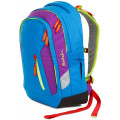 Рюкзак школьный Satch Sleek Flash Jumper с анатомической спинкой голубой