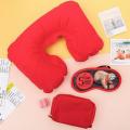Комплект дорожный HUANGGANG JIAZHI TEXTILE Еще 5 минуточек (подушка, маска для сна, беруши)
