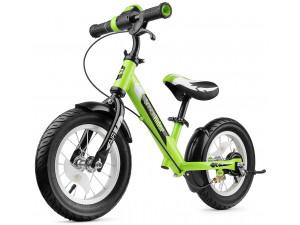 Small Rider Roadster 2 AIR Plus - беговел с ревом мотора и светодиодами, зеленый