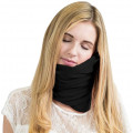 Подушка для путешествий RoadLike Scarf Pillow, черная