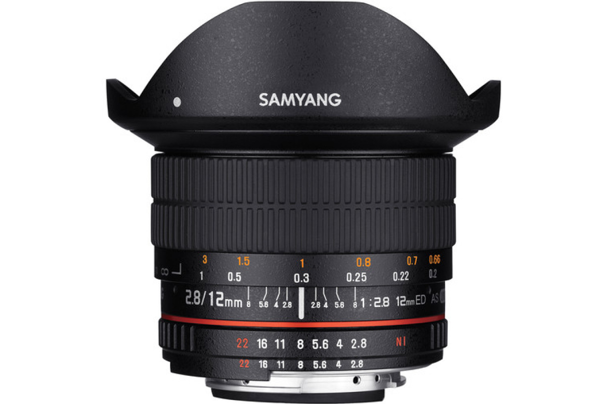Samyang 12mm f/2.8 ED AS NCS Fisheye Pentax