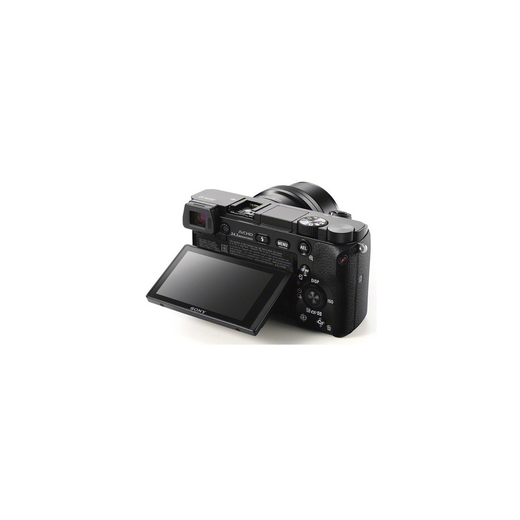 Фотоаппарат Sony Alpha A6000 kit 16-50 f/3.5-5.6 OSS, черный ((