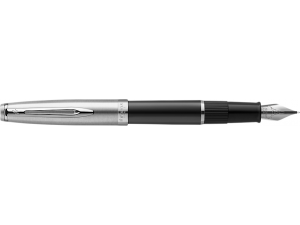 Ручка перьевая Waterman Embleme - Black CT, F