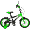 Velolider Lider 14A-1487 Shark - двухколесный велосипед зеленый-черный