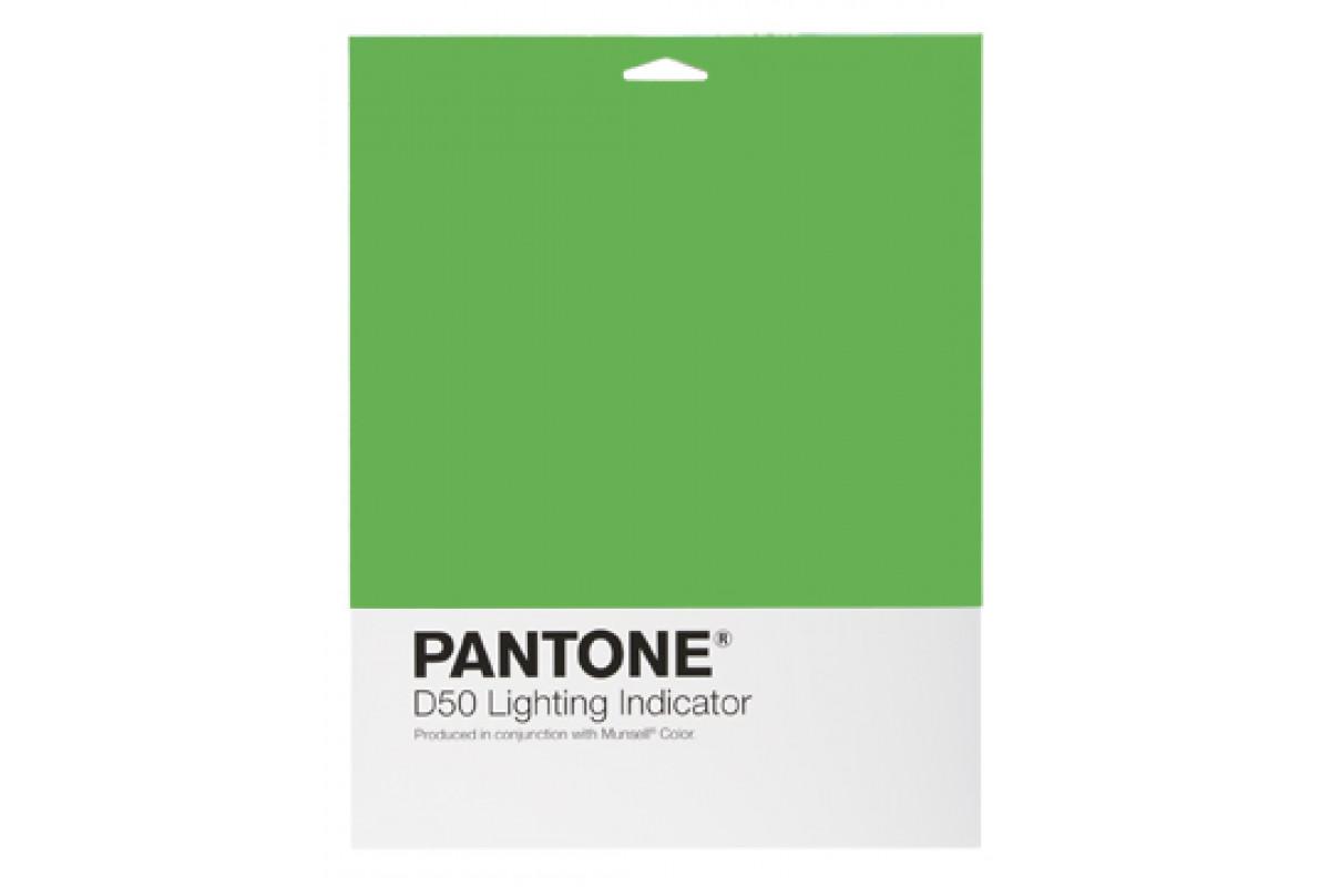 Цветовой справочник Pantone Lighting Indicator Stickers D50