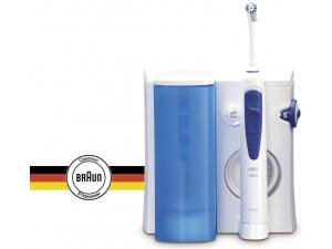 Ирригатор Oral-B Professional Care Oxyjet белый/синий