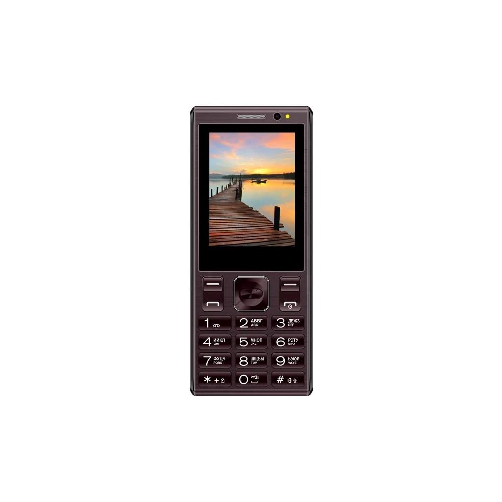 Мобильный телефон Vertex D536 Коричневый